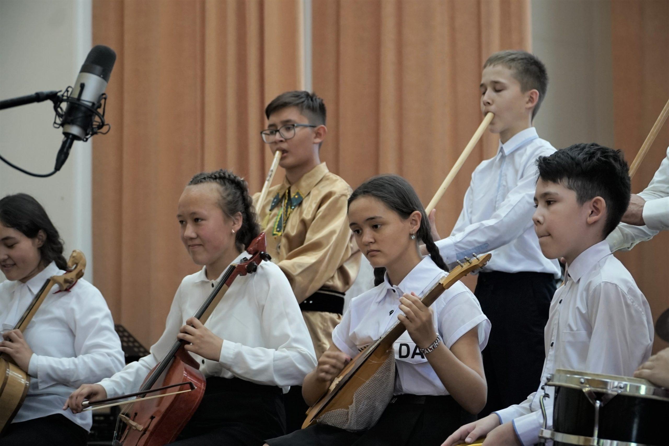 Отчетный концерт профильной смены по музыке